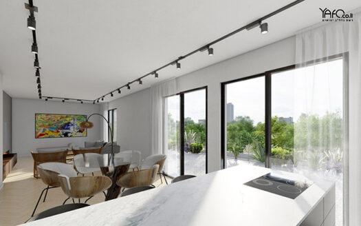 Luxury penthouse in the flea market