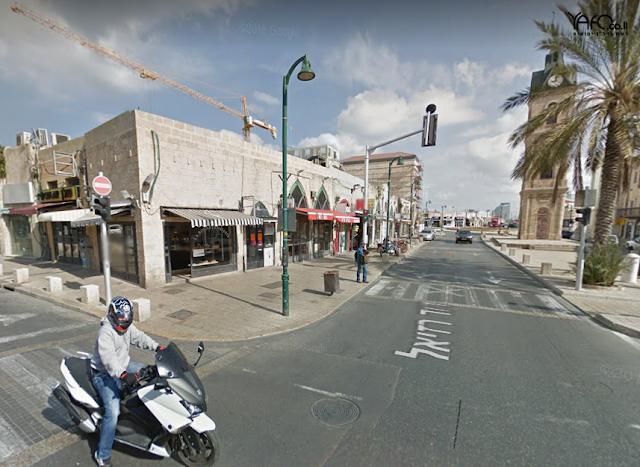 חנות פינתית למכירה בכיכר השעון ביפו