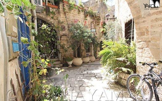 דירת סטודיו ביפו העתיקה