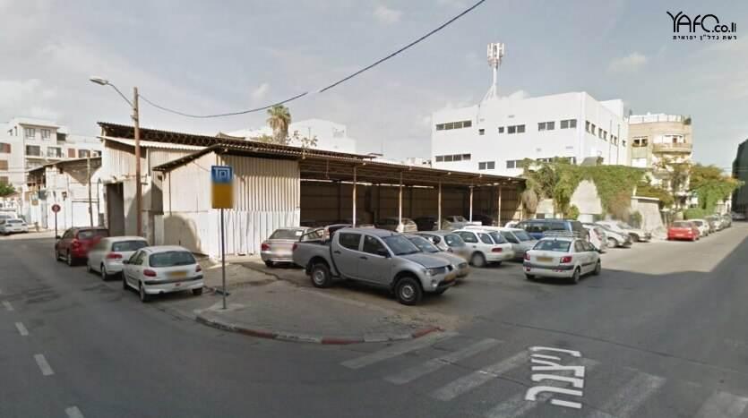מגרש לבניה ביפו בפינת הרחובות פוריה וניצנה בשכונת נוגה