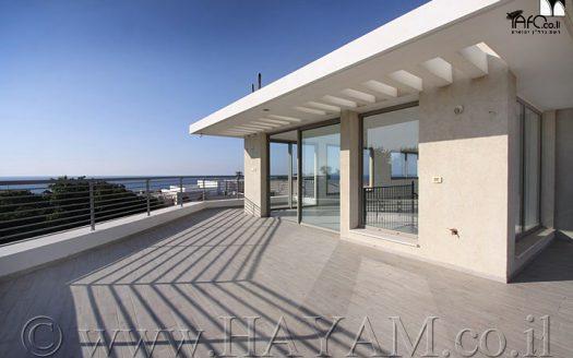 Penthouse de luxe à Jaffa donnant sur la mer