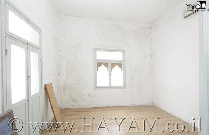 דירת 5 חדרים יפואית קלאסית
