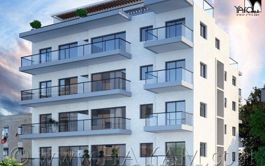 דירת 3 חדרים חדשה בתל אביב